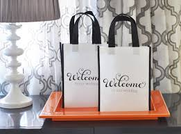 welcome to our wedding bags wedding party welcome bags reunions hs reunion candy