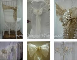 lace chair covers modern vintage wedding with lace chair covers sashes pearls