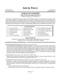 accountant resume format resumes for accountants sle resume for bank accountant resume