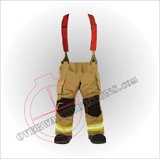 American Flag Suspenders Firefighter Turnouts With Red Suspenders Sticker Overwatch Designs