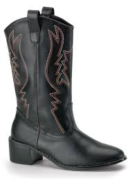 tall motorcycle boots mens black cowboy boots