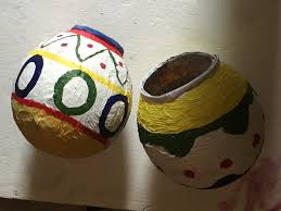 How To Decorate Pot At Home by Gov How To Make A Beautiful Pot With Paper Youtube
