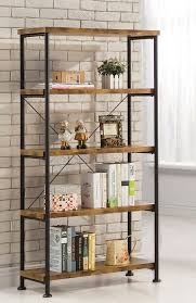Bookcase Black Wood Bookshelf Glamorous Metal Bookshelves Glamorous Metal