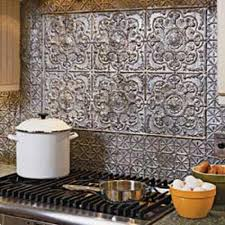kitchen backsplash tin how to take care of tin backsplash for kitchens