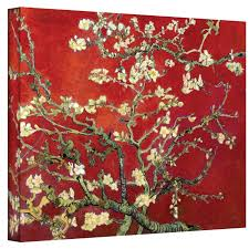 Gallery Art Wall Amazon Com Art Wall Almond Blossom By Vincent Van Gogh Gallery