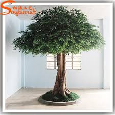 cheap big artificial banyan decorative tree large outdoor