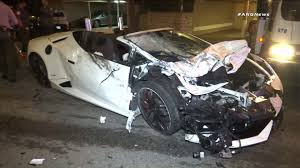 lamborghini car 2017 2 men sought after lamborghini crashes into parked car in west