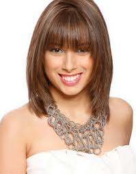 above shoulder length hairstyles with bangs above shoulder length hairstyles w