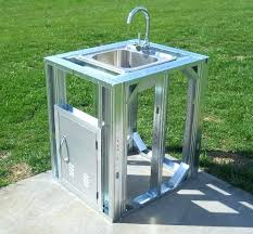 outdoor kitchen sinks ideas outdoor kitchen sink large size of kitchen outdoor grill with sink