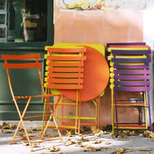 Metal Bistro Chairs 5 Gorgeous French Garden Furniture Metal Items