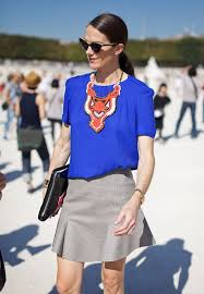 style statement necklace images Street style statement necklaces whowhatwear uk jpg