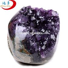 Crystal Home Decor Wholesale Wholesale Small Parts Of Natural Brazil Amethyst Geode Rock Quartz