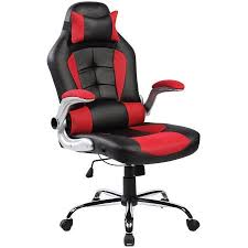 merax ergonomic high back racing style office chair for reclining