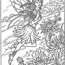 coloring pages adults difficult fairies archives mente beta