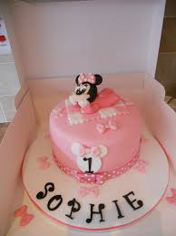 minnie mouse birthday cakes baby minnie mouse 1st birthday cake www cakes flickr