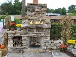 Outdoor Fireplace Canada - popular outdoor fireplace stone veneer u2014 porch and landscape ideas
