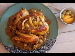 cuisine choumicha poulet poulet à la marocaine mhamer moroccan roast chicken دجاج
