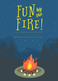 free bonfire invitations free party invitations summer bonfire