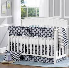 White Nursery Bedding Sets Navy Metro 4 Crib Bedding Set Twinkle Twinkle One