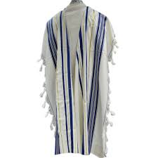 prayer shawl from israel buy blue and gold stripes prima aa wool tallit prayer shawl