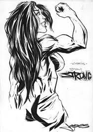 she hulk drawing by jpdeshong on deviantart