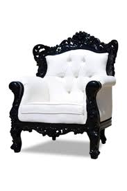 Black And White Chair by Best 25 Baroque Decor Ideas On Pinterest Gothic Home Decor