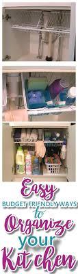 Affordable Kitchen Storage Ideas Cabinet Organization Kitchen Small Kitchen Storage Ideas Diy