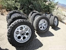 Great Customer Choice 33x12 5x17 All Terrain Tires Tested Street Vs Trail Vs Mud Tires Diesel Power Magazine