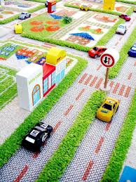 Green Kids Rug Ivi Traffic Green Kids 3d Floor Rug Large Http Www Urbanbaby