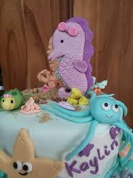 under the sea baby shower cake cakecentral com