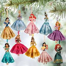disney princess sketchbook ornament set happy birthday