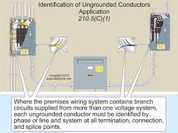 code q u0026a identification of circuit conductors electrical