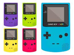 Game Boy Color Free Vectors Ui Download Gameboy Color