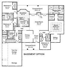 5 bedroom 3 bathroom house plans sensational design ideas 3 bedroom with basement house plans