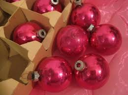 Christmas Tree Balls Fun Vintage Ornaments For A Retro Inspired Christmas Tree