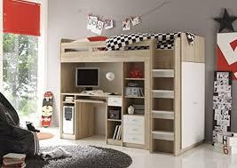 hochbett mit schreibtisch und sofa hochbett mit schreibtisch und sofa