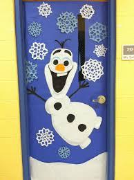 winter door decoration olaf from frozen http weown in https