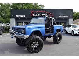 future ford bronco 1968 ford bronco for sale on classiccars com