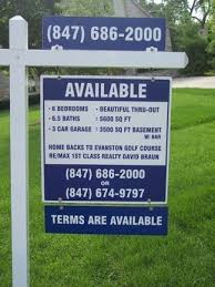 custom real estate signs design signs online