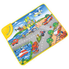 Kid Play Rugs Traffic Tool Cognition Play Rugs Mat Musical Baby Crawling Carpet