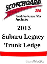 3m scotchgard paint protection film pro series fits 2015 2016