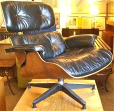 sold herman miller 1957 eames lounge chair ottoman rosewood 670