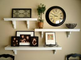 decorating ideas for living room walls livingroom delectable living room beauty shelves wire shelving