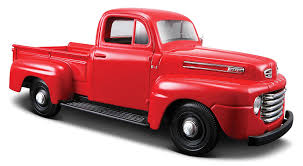 Vintage Ford Truck Fabric - amazon com maisto 1 25 scale 1948 ford f 1 pickup diecast truck