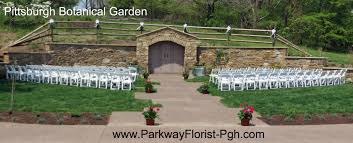 Botanical Gardens Pittsburgh Ceremony Traditional And Non Traditional Parkway Florist
