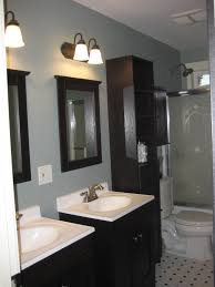 Gray Blue Bathroom Ideas Good Bathroom Color Schemes Design Ideas Idolza