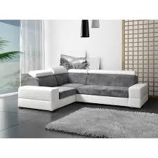 canapé d angle gris canapes d angle convertible avec tetieres relevables capre gris et