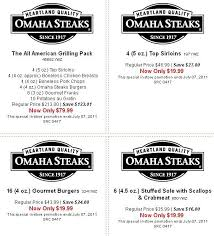 omaha steaks gift card omaha steaks coupons coupon codes