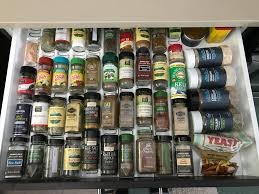 Spice Rack Mccormick See How I Organize My Kitchen For Quicker Cooking Video