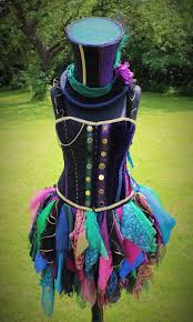 Mad Hatter Halloween Costume Hand Female Mad Hatter Costume Faerieinthefoxglove